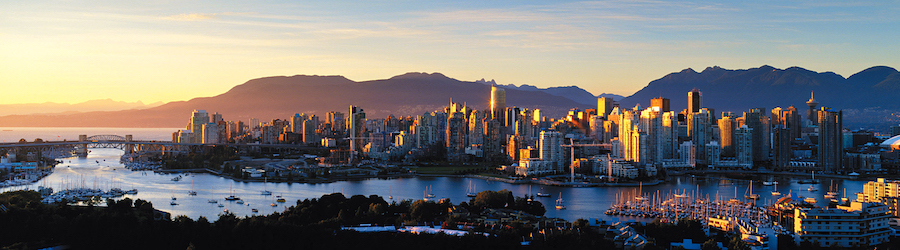 vancouver city scape and skyline
